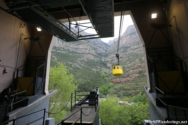Cable Car Ride to Montserrat