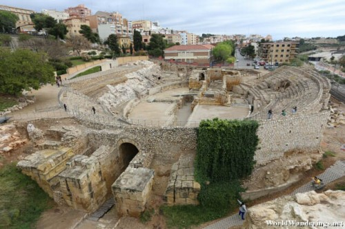 Ruins of a Roman Amphitheater at Tarraco