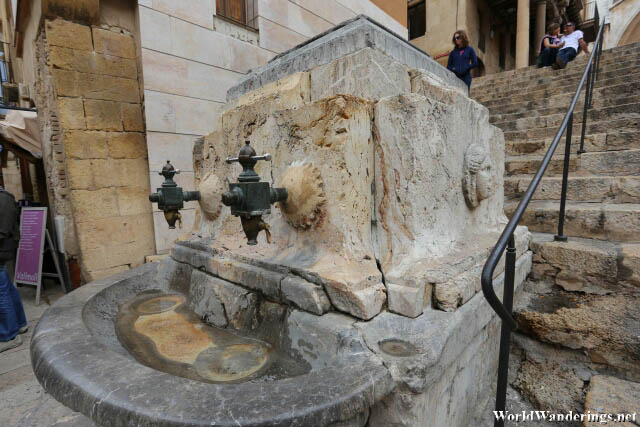 Drinking Fountain at Tarragona