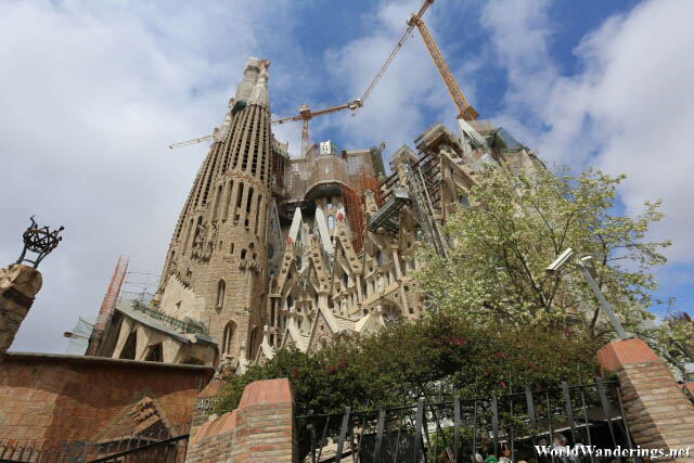 Sagrada Familia Still Under Construction