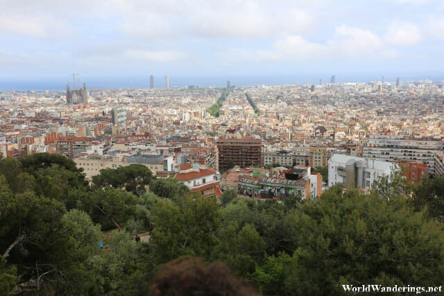 View of Barcelona from Park Güell