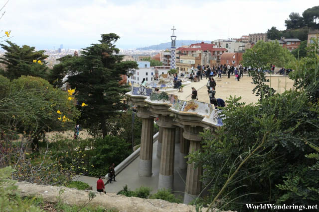A Look at Some of Antoni Gaudí's Creations at Park Güell in Barcelona