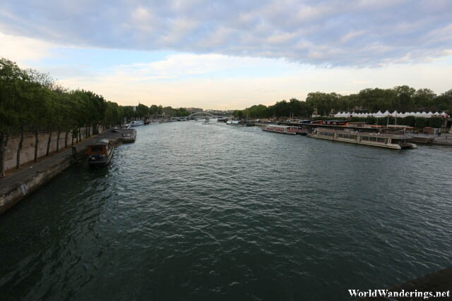 Crossing the River Seine