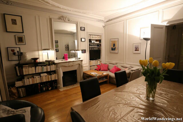 Living Room at a Parisian Apartment