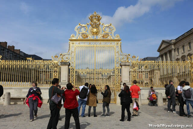 Main Gate of the Palace of Versailles