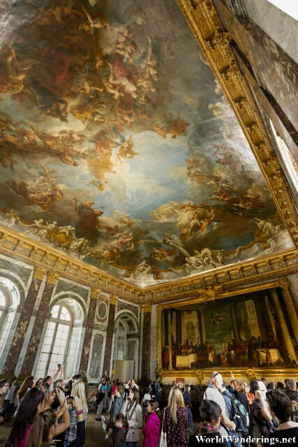 One of the Rooms at the Palace of Versailles