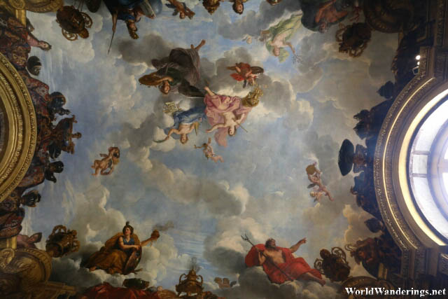Taking a Look at Heaven at the Palace of Versailles