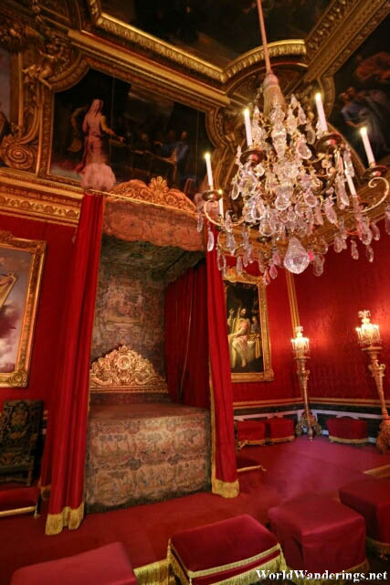 Bedroom of Louis XVI in the Palace of Versailles