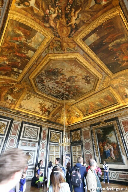 Beautiful Art at the Palace of Versailles
