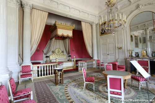 Beautiful Bedroom at the Grand Trianon at the Palace of Versailles