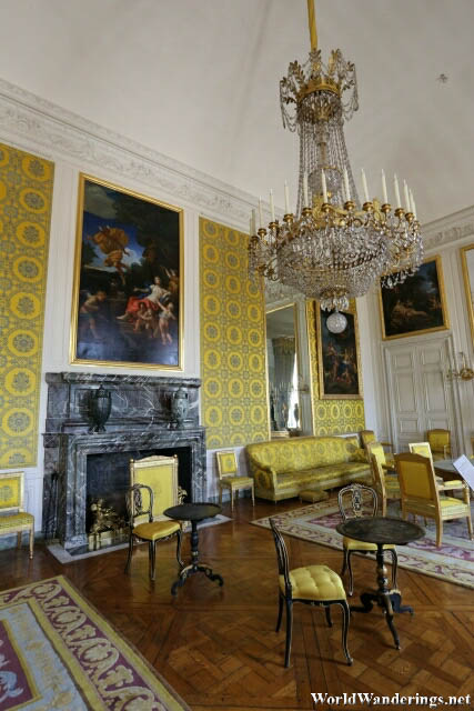 Elegant Rooms of the Grand Trianon of the Palace of Versailles