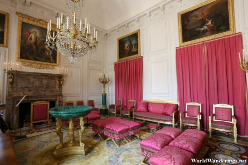 Lovely Rooms at the Grant Trianon at the Palace of Versailles
