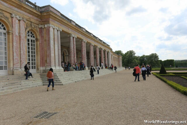 Heading Out of the Grand Trianon