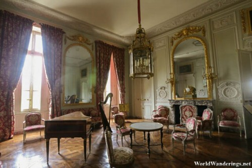 Beautiful Rooms at the Petit Trianon at the Palace of Versailles