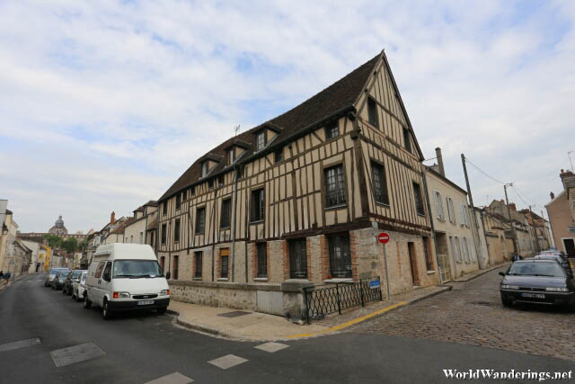 Beautiful French Houses in Provins