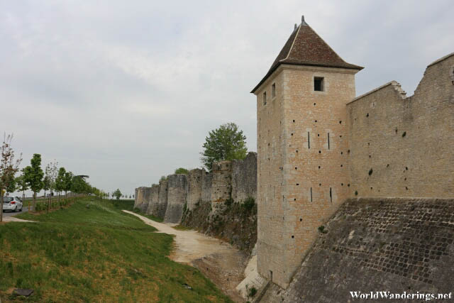 Magnificent Walls of the Medieval Town of Provins