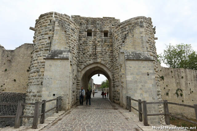 Gates of Provins Medieval Town