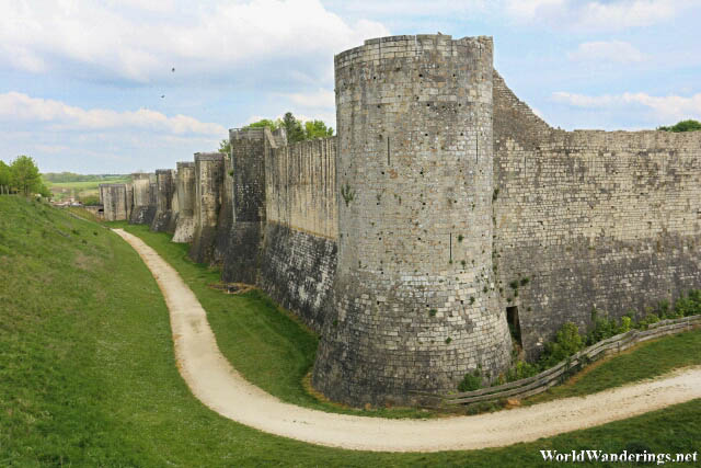The Walls of the Medieval Town of Provins