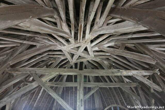 Complex Design of the Roof of the Caesar's Tower in the Medieval Tower of Provins