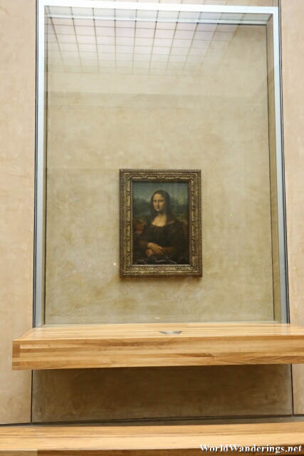 Mona Lisa at the Louvre Museum