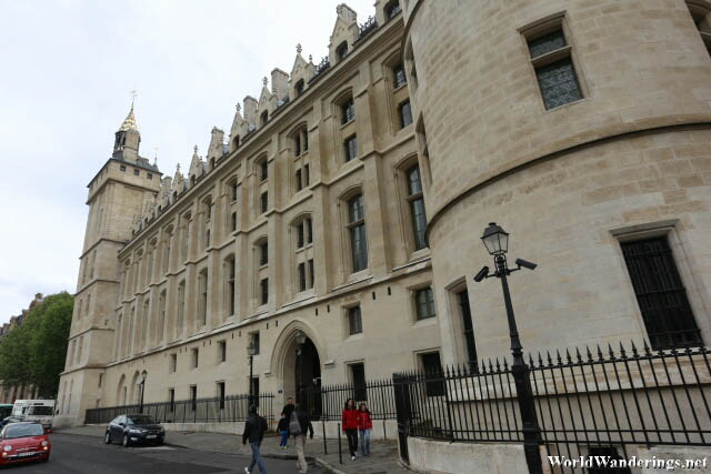 Impressive Facade of the Conciergerie