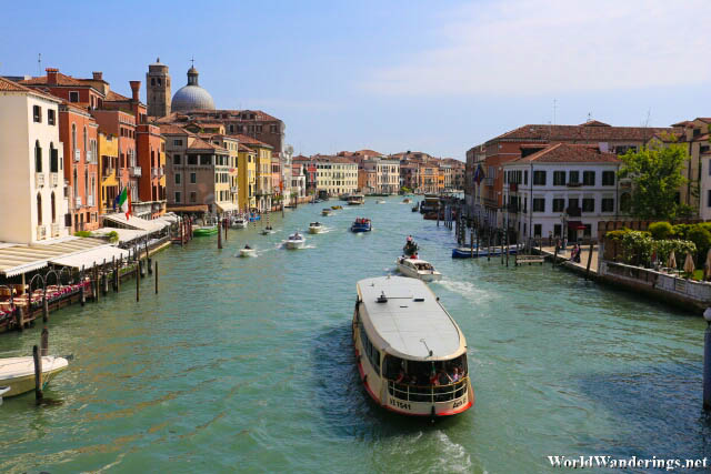 Grand Canal at Venice