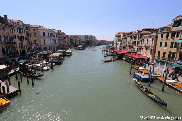 View of the South from the Rialto Bridge