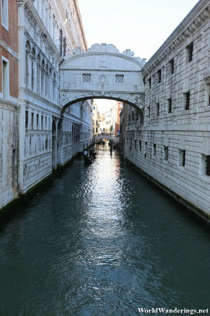 The Bridge of Sighs Over the Rio di Palazzo