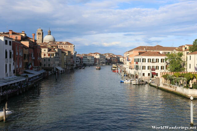 A Look at the Grand Canal in Venice