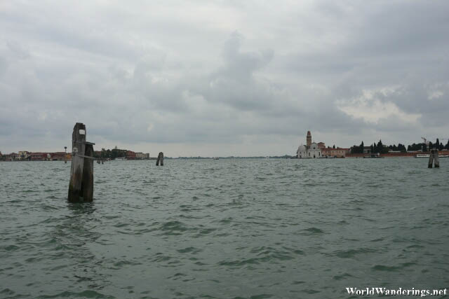 A Look at Venice from the Venetian Lagoon