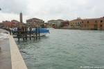 Arrival at Murano Island
