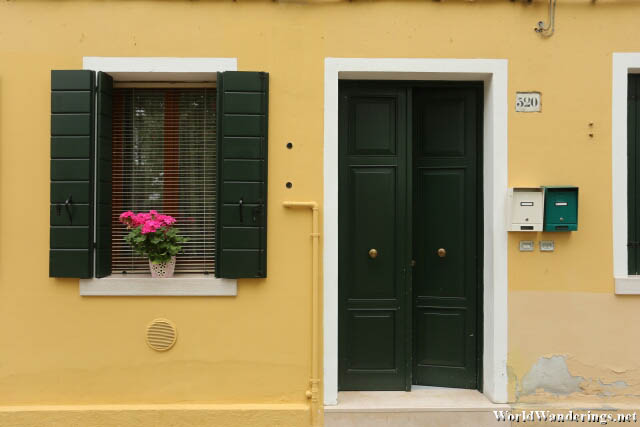 Charming House in the Island or Burano
