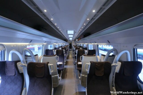Inside the Trenitalia Train from Venice to Rome