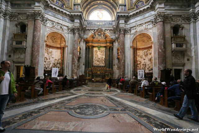 Beautiful Interior of Sant'Agnese in Agone