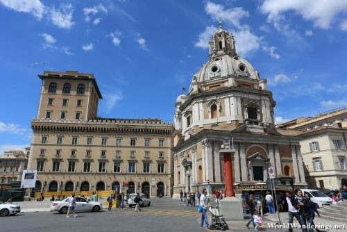 Santa Maria di Loreto Church in Rome