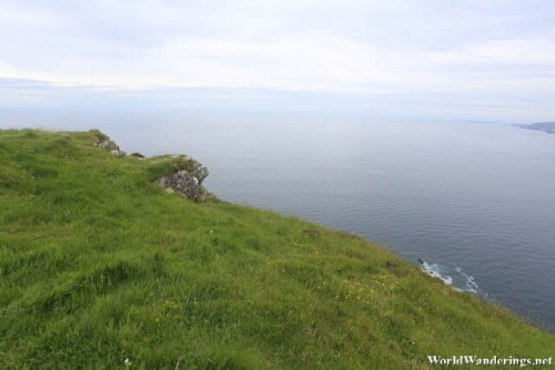 A Look at the Atlantic Ocean from Slieve League