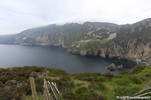 Spectacular Cliffs of Slieve League in County Donegal