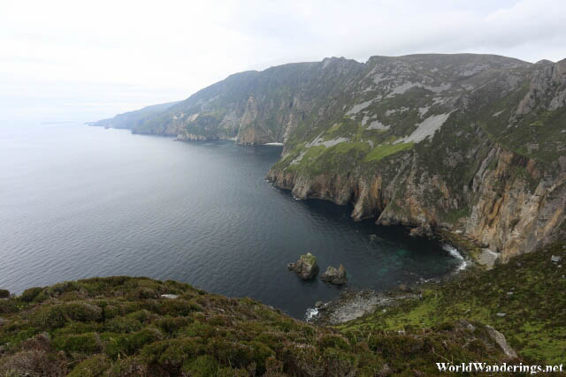 Breathtaking View of Slieve League in County Donegal