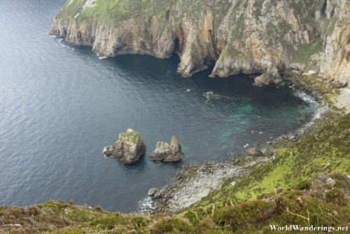 Crystal Clear Waters at Slieve League in County Donegal