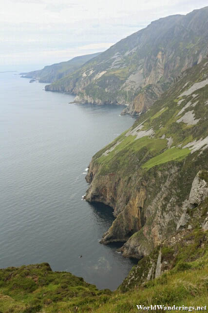 Impressive Cliffs of Slieve League in County Donegal
