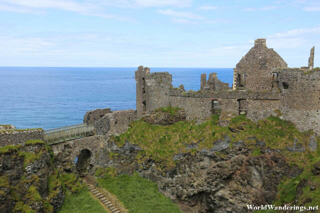 A Look at Dunluce Castle in County Antrim