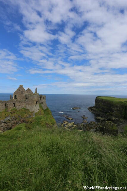 Wild Coast the Dunluce Castle in County Antrim