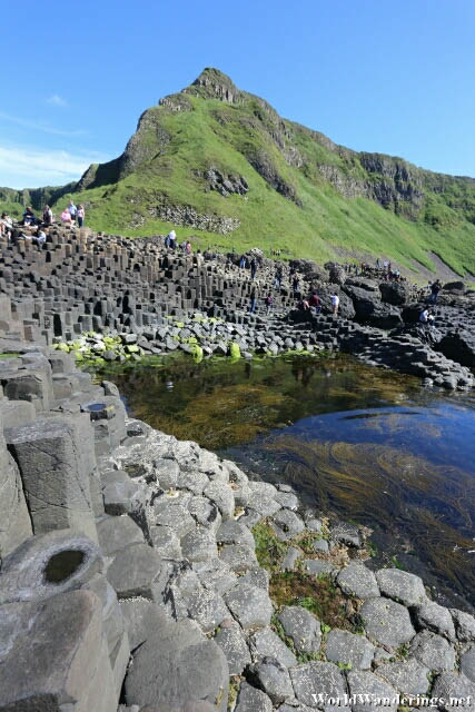 Amazing Hexagonal Columns at the Giant's Causeway in County Antrim