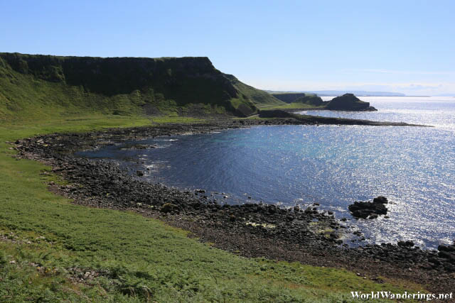 Port Noffer at the Giant's Causeway in County Antrim