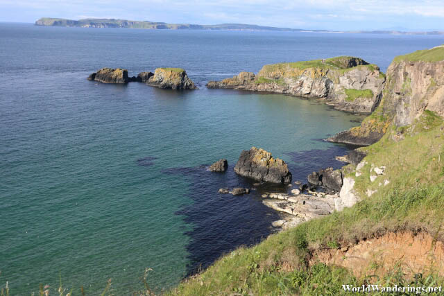 Lovely Coast of Carrick-a-Rede