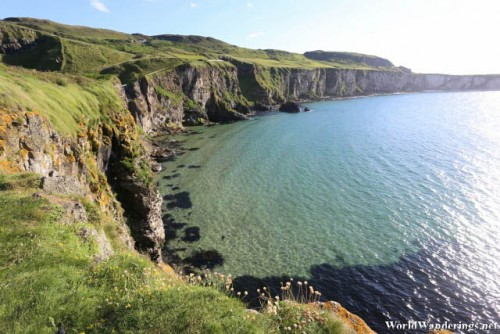 Cliffs as Far as We can See at Carrick-a-Rede