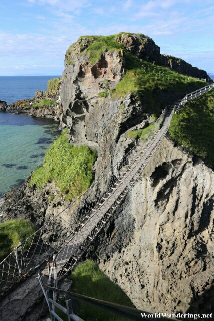 Another View of the Carrick-a-Rede Rope Bridge
