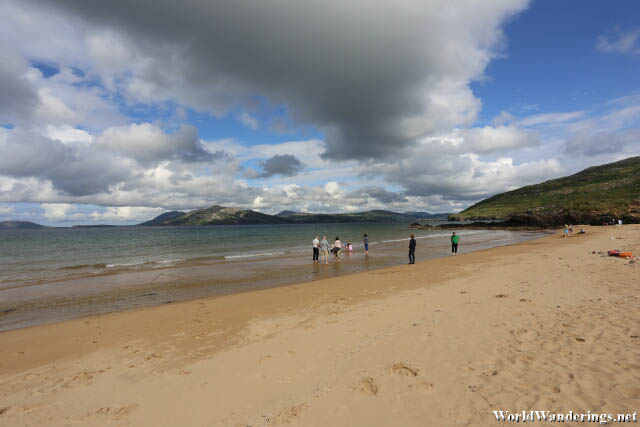 Ballymastocker Strand in County Donegal