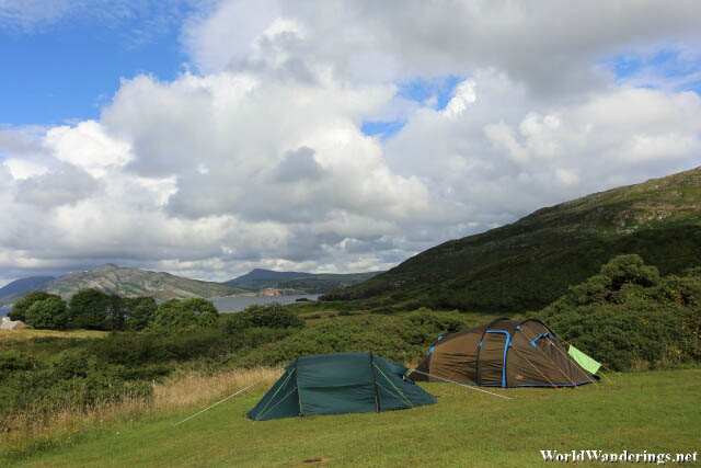 Lovely View Camping at Knockalla Camping and Caravan Park
