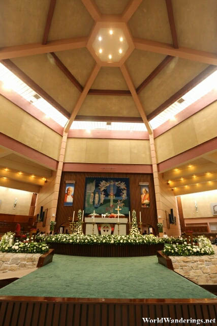 View of the Altar at the Basilica Shrine of Our Lady of Knock